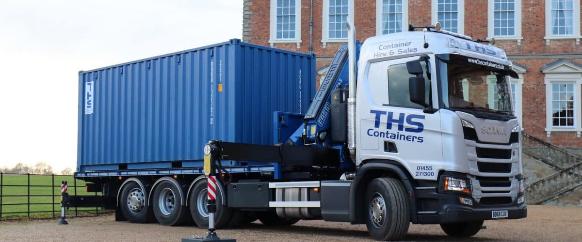 Lorry with 20FT Container