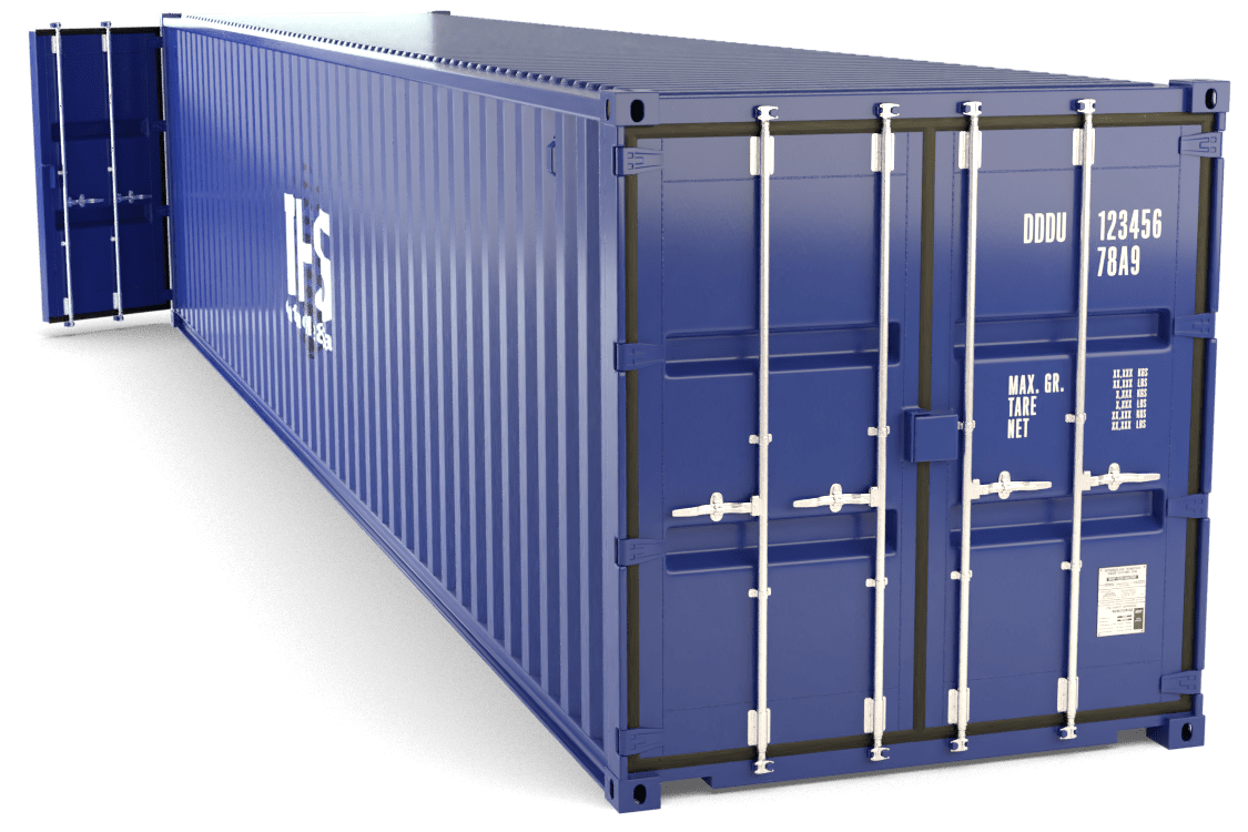 40 Foot Tunnel Container